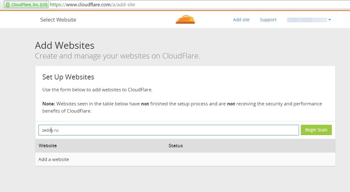 Защита от ddos cloudflare на сколько ваш сайт